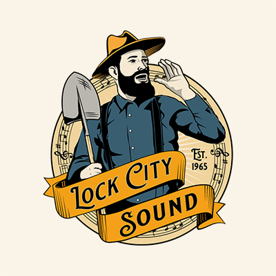 12 Grain Studio - Lock City Glee Club Logo