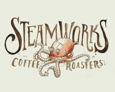 12 Grain Studio Steamworks Logo